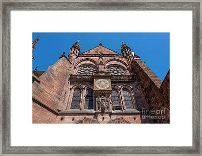 Cathedral Of Our Lady Strasbourg Alsace France Framed Print by Marco Arduino