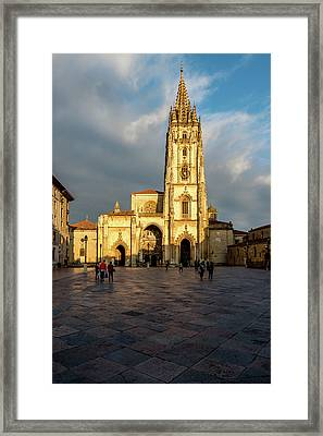 Cathedral Of Oviedo Framed Print