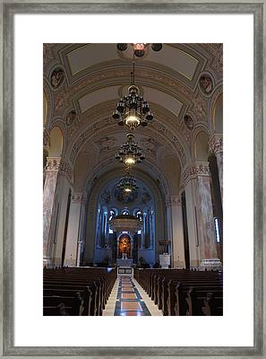 Cathedral Of Saint Joseph  Framed Print