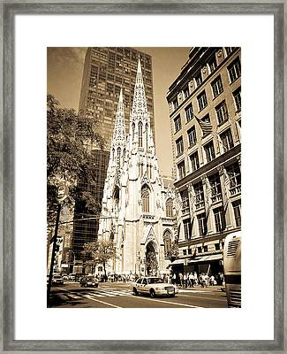 Cathedral Of Saint Patrick Framed Print