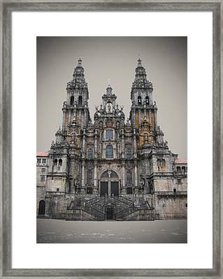 Cathedral Of Santiago De Compostela Framed Print