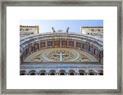 Cathedral Of St Vincent De Paul Iv Framed Print by Irene Abdou