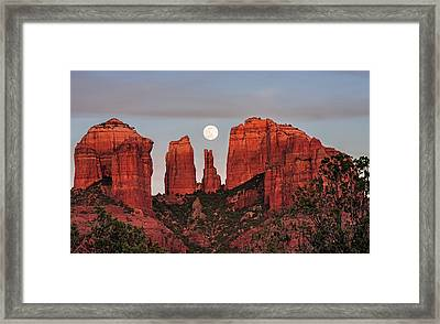 Cathedral Of The Moon Framed Print