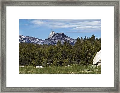 Cathedral Peak  Framed Print by Richard Verkuyl