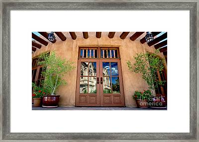 Cathedral Reflected Framed Print