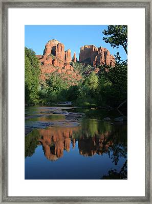 Cathedral Reflections Framed Print by Jimmy Fox