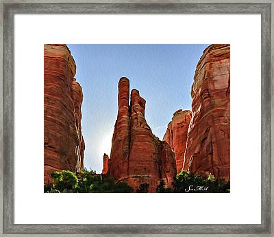 Cathedral Rock 05-155 Framed Print