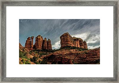 Cathedral Rock 06-027 Framed Print by Scott McAllister