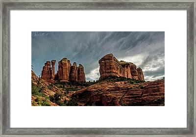 Cathedral Rock 06-027 Framed Print