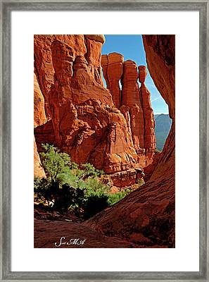 Cathedral Rock 06-124 Framed Print by Scott McAllister