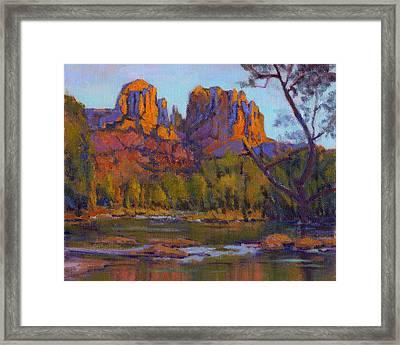 Cathedral Rock 2 Framed Print