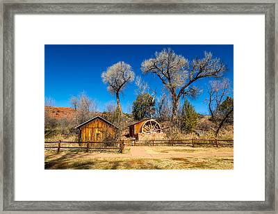 Cathedral Rock #4 Framed Print by Jon Manjeot