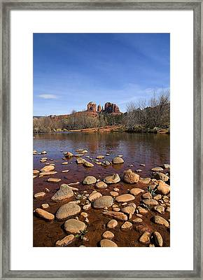 Cathedral Rock Framed Print by Dan Wells