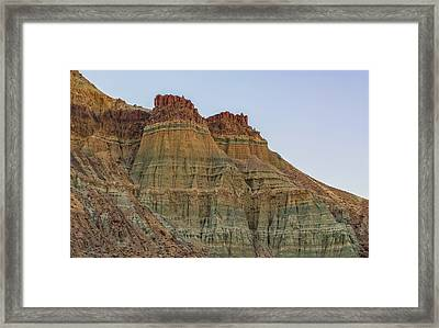 Cathedral Rock Framed Print by Loree Johnson