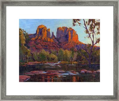 Cathedral Rock, Sedona Framed Print