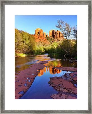Cathedral Rock Sedona Framed Print by Matt Suess