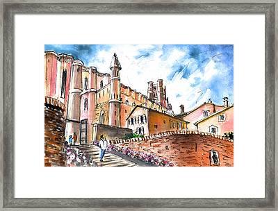 Cathedral Sainte Cecile In Albi 02 Framed Print