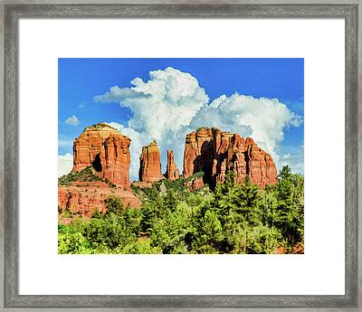 Cathedral Sed M 04-115 Framed Print by Scott McAllister