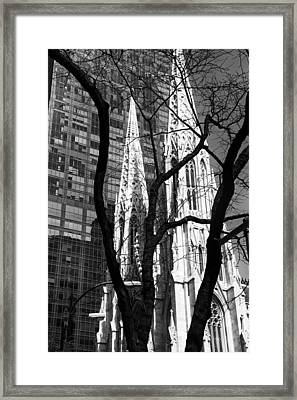 Cathedral Spires Framed Print