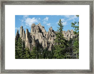 Cathedral Spires Framed Print by Juli Scalzi