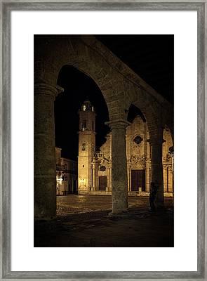 Cathedral Square Havana Cuba Framed Print