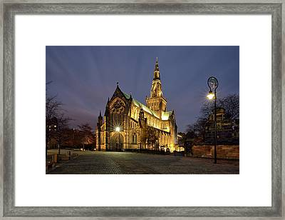 Cathedral Twilight Framed Print