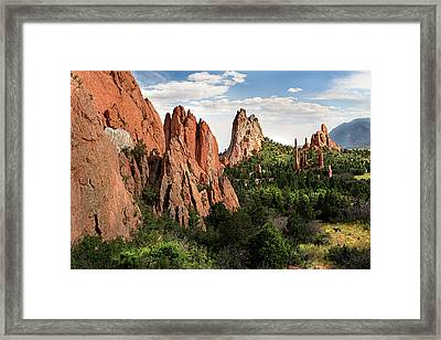 Cathedral Valley, Colorado Framed Print