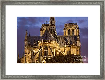 Cathedrale Notre Dame Framed Print by Brian Jannsen