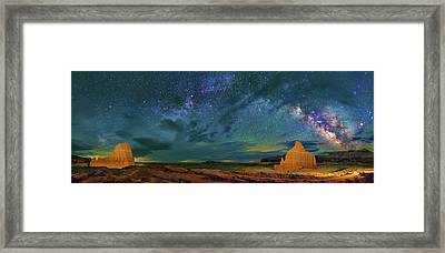 Cathedrals Framed Print