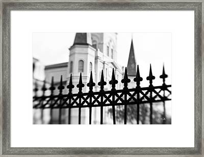 Catheral Basilica Framed Print by Scott Pellegrin