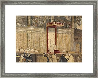 Catherdral Framed Print