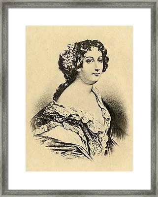 Catherine Marie De Lorraine, Duchess De Framed Print by Vintage Design Pics