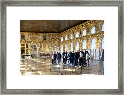 Catherinepalballrmc026 Framed Print by Charles  Ridgway