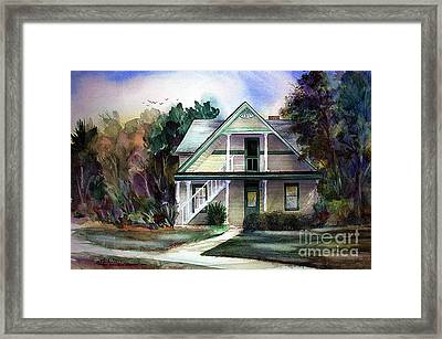 Catherine's House Framed Print