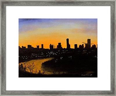 Catherine's Sunrise Framed Print by Jack Skinner