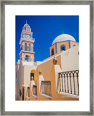 Catholic Cathedral Church Of Saint John The Baptist Framed Print by Inge Johnsson