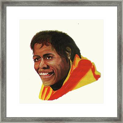 Cathy Freeman Framed Print