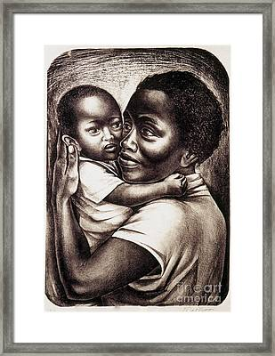 Catlett: Mother, 1959 Framed Print