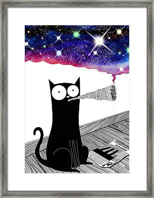 Catnip  Framed Print by Andrew Hitchen