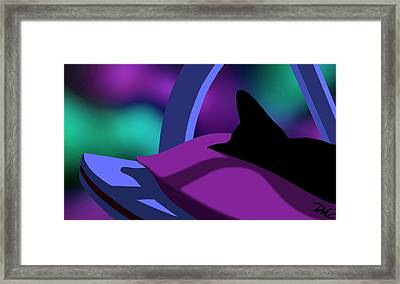 Catnip Framed Print by Tom Dickson