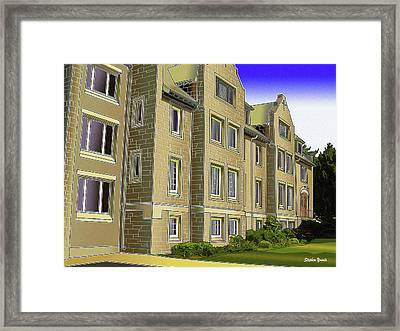 Catonsville United Methodist Church Framed Print by Stephen Younts