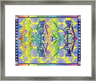 Cat's Cradle Abstract Framed Print by George Pasini