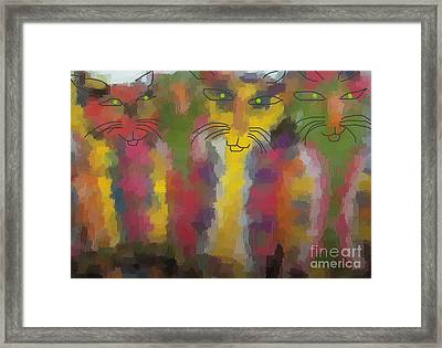 Cats Framed Print by Don Phillips
