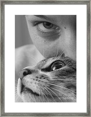 Cat's Eyes Framed Print by Michael Canning