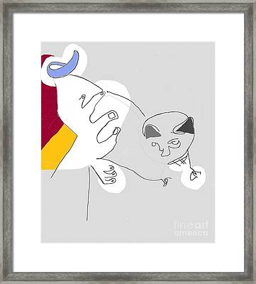 Cat's Meow Framed Print by Michael OKeefe
