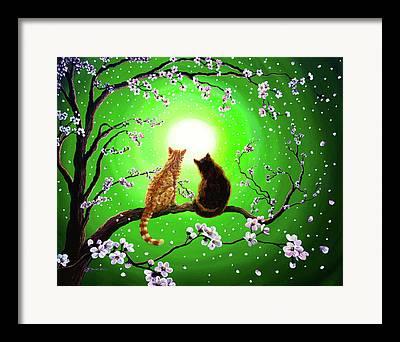 Sakura Paintings Framed Prints