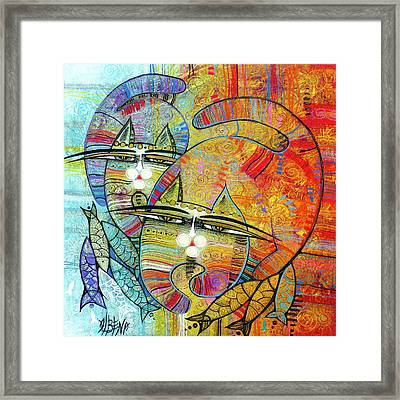 Cat's Paradise Framed Print