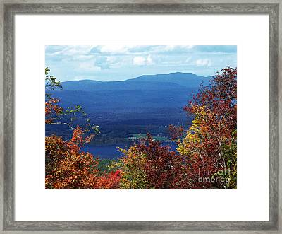 Catskill Mountains Photograph Framed Print