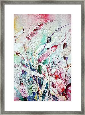 Cattails Five Framed Print