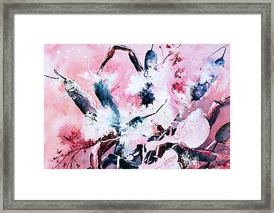 Cattails Four Framed Print